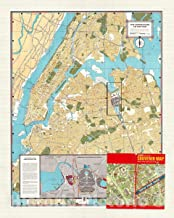 Historic Pictoric Map : New York City 1965 1, New York World's Fair : 1965 Official Souvenir map, Antique Vintage Reproduction : 35in x 44in