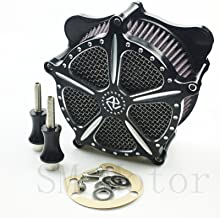 Air Cleaner harley road glide air Intake Filter For Harley Softail Dyna Glide Rocker 04-07 01-07