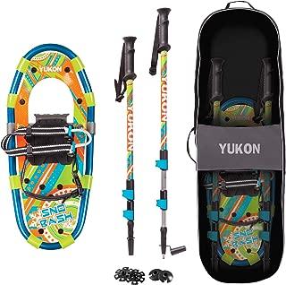 Yukon Charlies Snow Bash Youth Aluminum Snowshoe