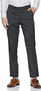 Indigo Nation Men's Slim Fit Casual Trousers