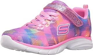Skechers Kids Girls' Spirit Sprintz-Rainbow Raz Sneaker Running Shoe