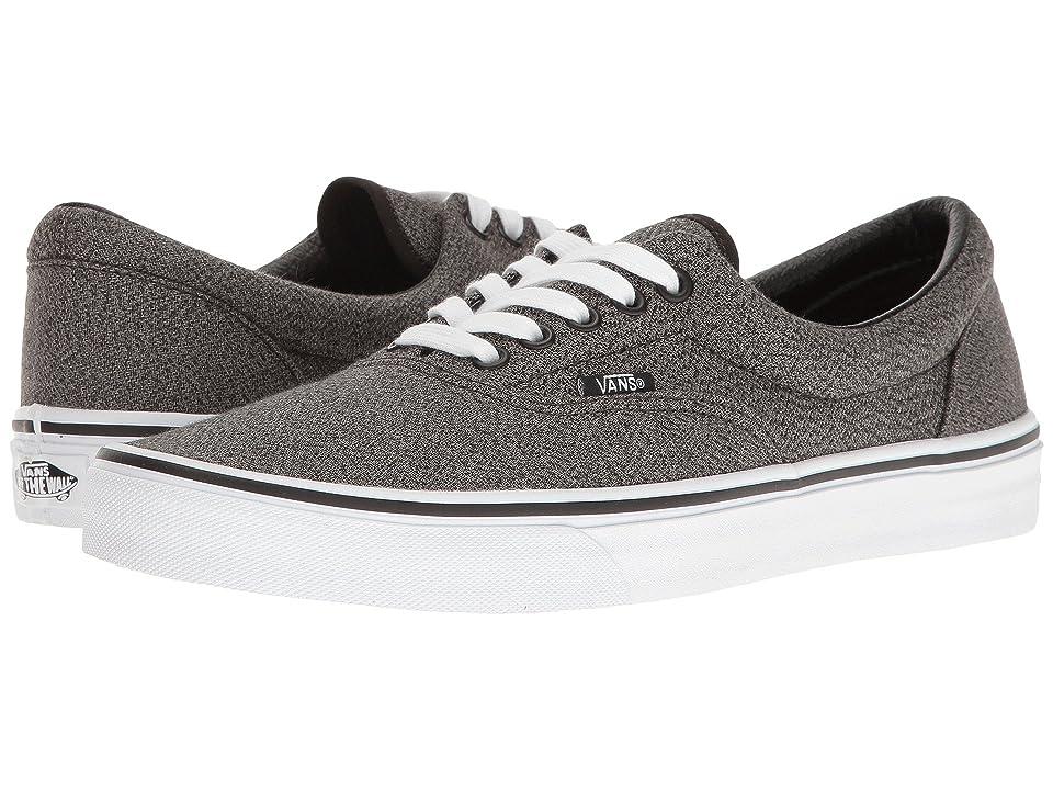 Vans Eratm ((Suiting) Black/True White) Skate Shoes