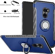 Xiaomi Mi Mix 2 case,Labanema Hybrid Dual Layer 360 Degree Rotation Ring Holder Kickstand Armor Slim Protective Cover for Xiaomi Mi Mix 2 - Dark Blue