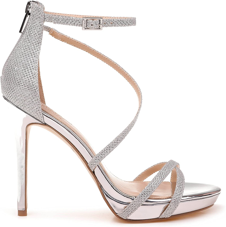 Badgley Mischka Jewel Women's Galen Heeled Sandal