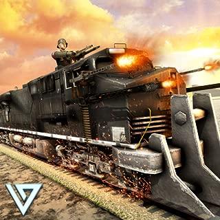 WW2 Army Train Shooter : Army Transport Game