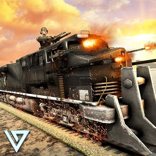ww2 Armee Zug Shooter: Armee Transport Spiel