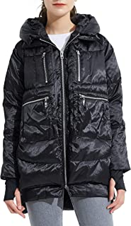 Orolay Women's Thickened Hooded Down Jacket