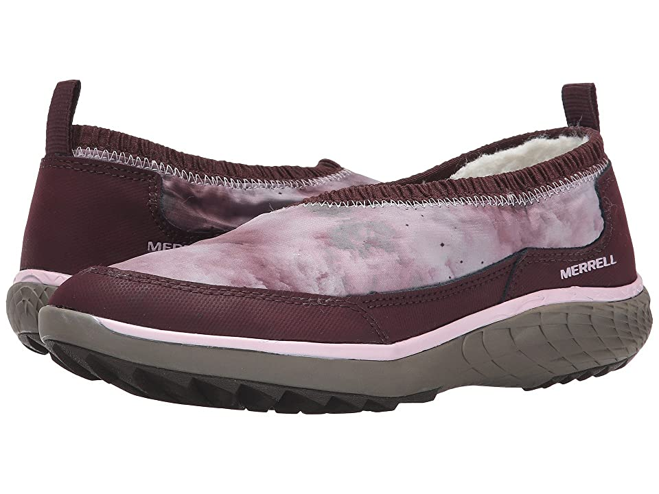 Merrell Pechora Wrap (Burgundy) Women