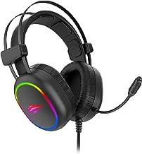 Fone de Ouvido Headphone com Microfone Havit H2016D Gamer RGB Plug 3.5mm