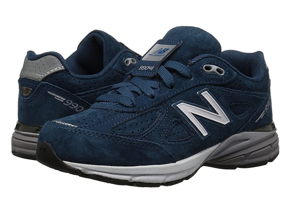 New Balance Kids KJ990v4P (Little Kid) (Teal/Silver) Boys Shoes