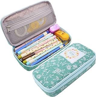 Twinkle Club Cute Big Capacity Pencil Case Lace Pattern Pen Bag Green
