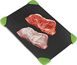 Andrew James Defrost Tray Thaw Board Plate | Up to 3 Times Faster Defrosting for Meat and Frozen Foods | No Electricity Required