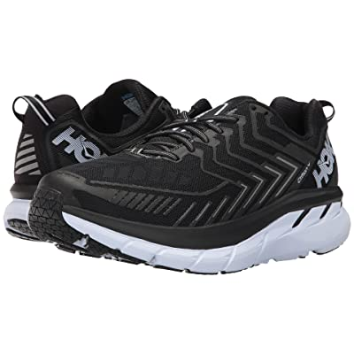 Hoka One One Clifton 4 (Black/White) Men
