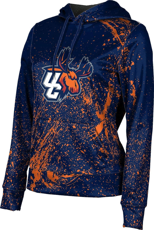 ProSphere Utica College University Girls' Pullover Hoodie, School Spirit Sweatshirt (Splatter)