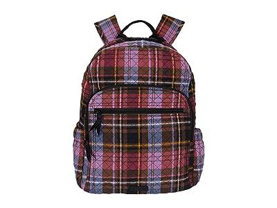 Vera Bradley Campus Backpack (Cozy Plaid) Backpack Bags