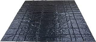 Mytee Products 16' x 24' Flatbed Truck Tarps Heavy Duty 18oz Steel Tarp - Black