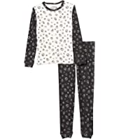 Peace & Love Thermal Two-Piece Jammie Set (Toddler/Little Kids/Big Kids)