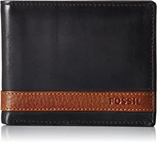 Fossil Men's Quinn Bifold with Flip Id
