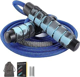 Springtouw, dragende touwtjespringen, snelle vetverbranding, snelle kogellagers Professioneel springtouw voor trainingen, ...