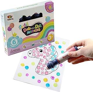 Doodle Hog 6 Pack Pastel Markers 6 Pastel Colors Multicolor