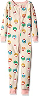 Gymboree Girls' Big 1-Piece Tight Fit Long Sleeve Pajama