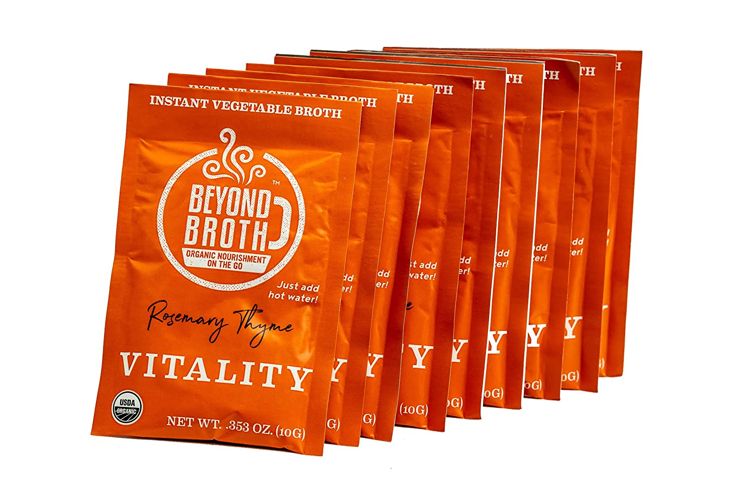 BEYOND BROTH Organic Vegan Vegetable with Sipping Fort Worth Mall Instant Broth Rare