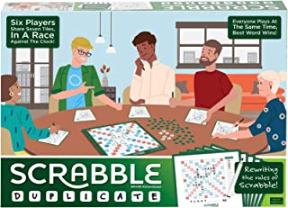 Mattel Scrabble Duplicate Game