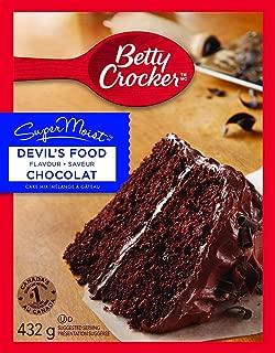 Betty Crocker Super Moist Chocolate Cake Mix 432 Grams / 15.25 Oz - 4 Packs
