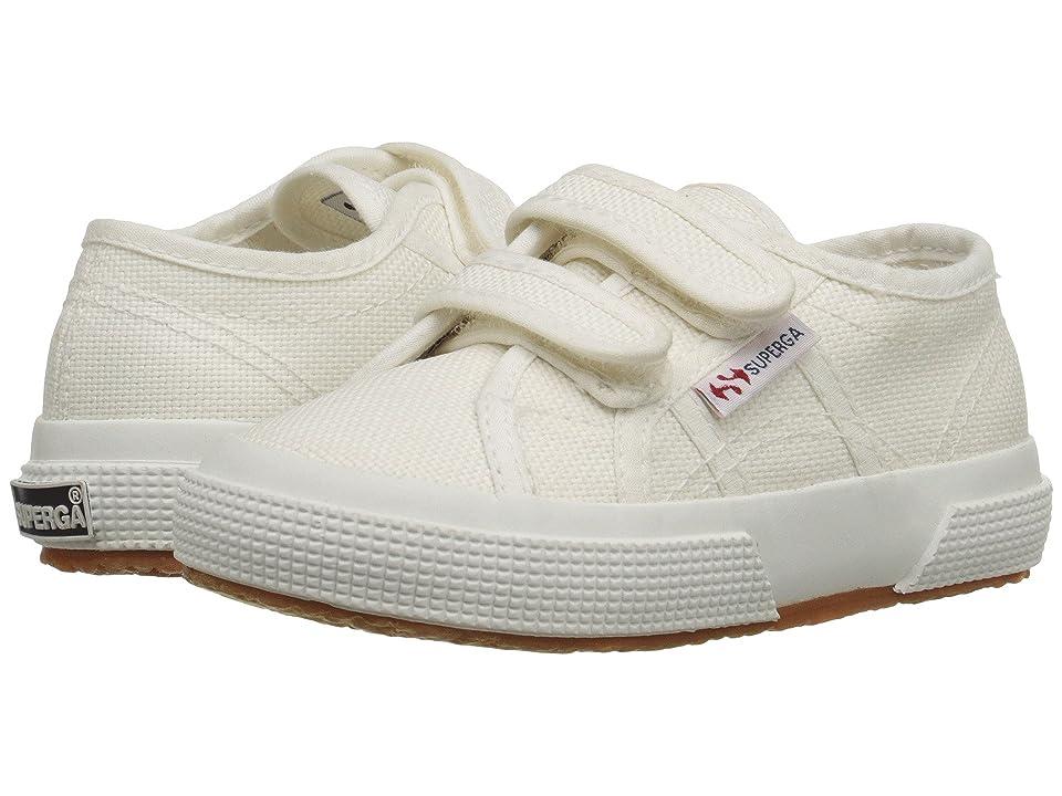 Superga Kids 2750 JVEL Classic (Toddler/Little Kid) (White) Kids Shoes