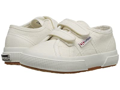 Superga Kids 2750 JVEL Classic (Toddler/Little Kid) (White) Kids Shoes