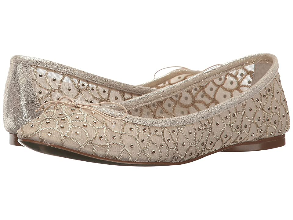 Vintage Wedding Shoes, Flats, Boots, Heels Adrianna Papell Natalia Gold Womens Shoes $89.00 AT vintagedancer.com