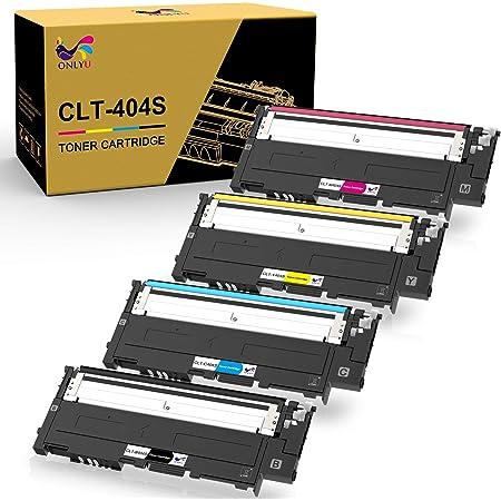 4 X Tonner Cartouches non-Original Alternative pour Samsung K404S,C404S,M404S.
