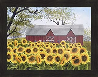 primitive sunflower pictures