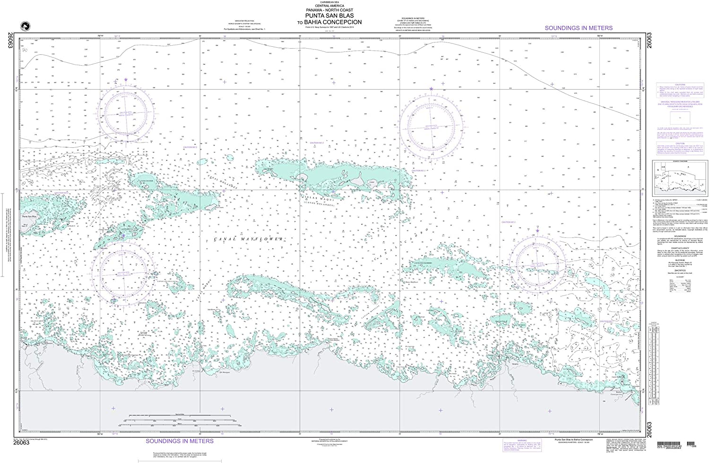 NGA Chart 26063 Punta San Blas to 53