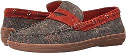 Etro - Paisley Boat Shoe