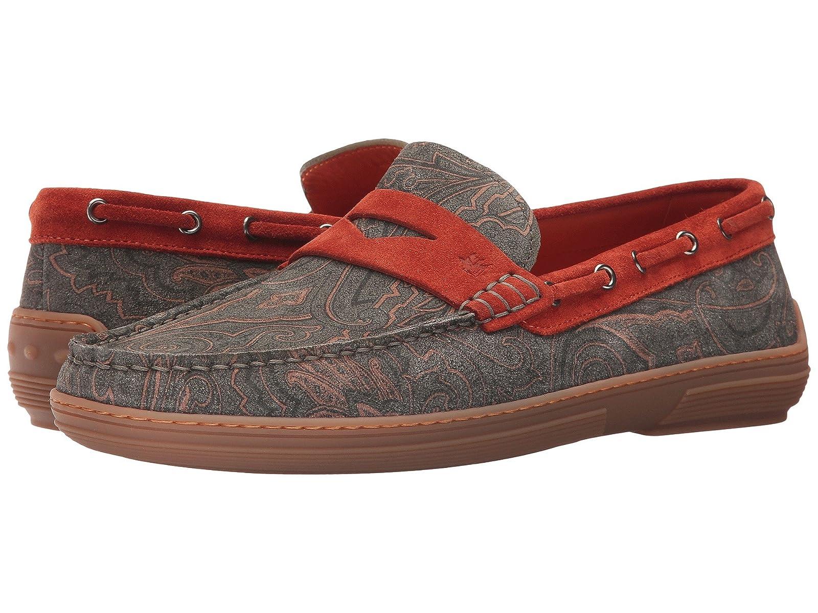 Etro Paisley Boat ShoeCheap and distinctive eye-catching shoes