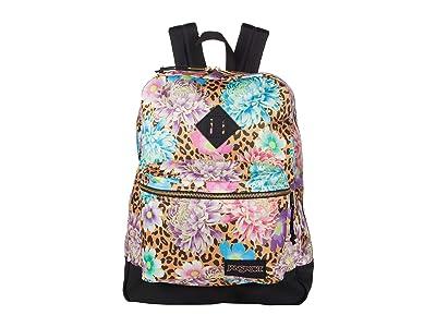 JanSport Super FX (Cheetah Begonia) Backpack Bags