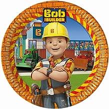 Bob the Builder Paper Plates Large 23cm by Procos