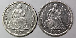 Best 1868 s dime Reviews