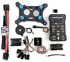 YoungRC Pixhawk PIX 2.4.8 - Controlador de vuelo (32 bits, PX4, módulo de control de vuelo, interruptor de seguridad, buzzer+PPM+I2C+RGB+tarjeta SD de 16 GB)