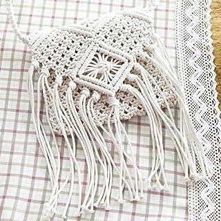 Amazon.es: bolso a crochet - Blanco