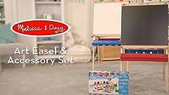 Amazon Com Melissa Doug Easel Companion Accessory Set