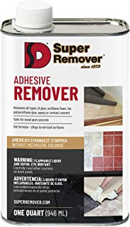 Adhesive Stripper (Quart - 32oz) Super Remover - for All Types of Glue