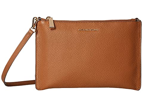 25da79a15c8432 MICHAEL Michael Kors Large Double Pouch Crossbody at Zappos.com