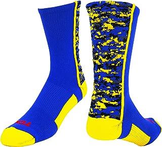 Sports Elite Performance Digital Camo Crew Socks