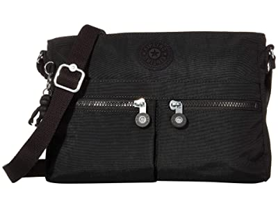 Kipling New Angie Crossbody Bag (Black Noir) Handbags