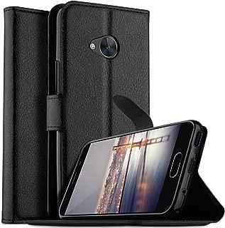 HTC U11 Life case, KuGi HTC U11 Life case, Ultra-Thin MX Style PU Cover + TPU Back Wallet Stand Case for HTC U11 Life Smartphone(Black)