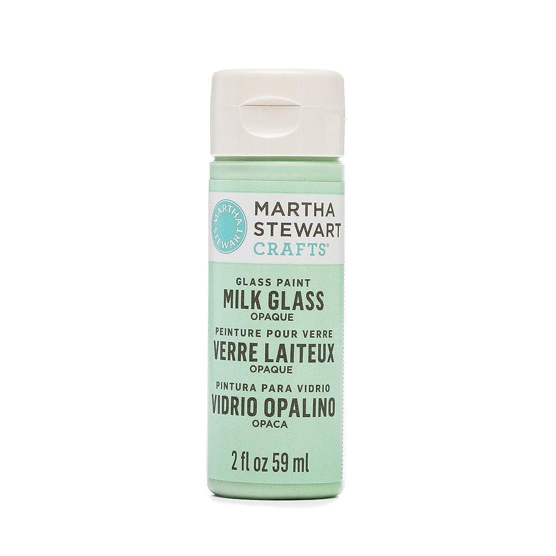 Martha Stewart Opaque Milk Glass Jadeite, 2 oz Paint