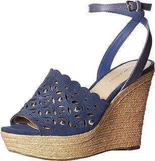 Marc Fisher Women's HATA Sandals, blue