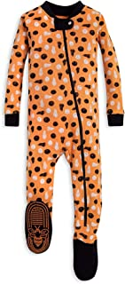Baby Boy's Unisex Pajamas, Zip-Front Non-Slip Footed Sleeper Pjs, Organic Cotton